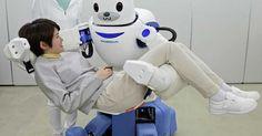 Japão desenvolve robô capaz de erguer idosos de cadeira de rodas