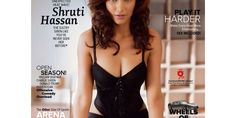 Hot Shruthi Hassan. . Highly Talented like her legendary Father and beautiful too..