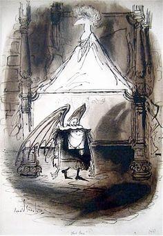St Trinian's Schoolgirl by Ronald Searle