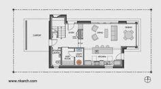 Plano de arquitectura del nivel inferior
