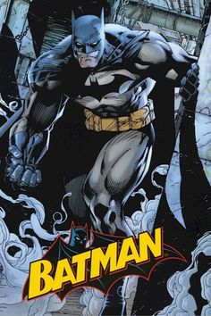 Batman by Jim Lee...I wanna get a print of this for the boys' room