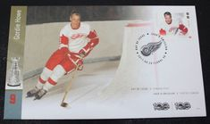 2017 Canada NHL Hockey Legends First Day Cover Gordie Howe #9 Canada Post Canada Post, First Day Covers, Nhl, Hockey, Legends, Stamps, Baseball Cards, Store, Ebay