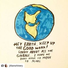 Sorry . I'll do better. Angie . #Repost @jillianwhinery (@get_repost)  Earth day is over now what? Check out my latest post (Earth Day Year Round) that offers a few simple tips that can dramatically help our Earth all year long.