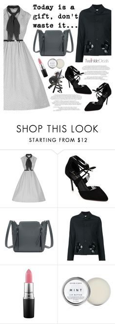 """""""TwinkleDeals"""" by helenevlacho ❤ liked on Polyvore featuring MAC Cosmetics, vintage and twinkledeals"""