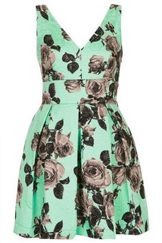 Grey rose print dress on #mint http://rstyle.me/n/haw3vnyg6
