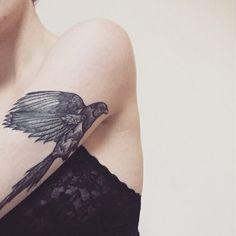 Bird, arm tattoo on TattooChief.com