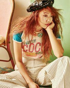 Park Shin Hye for VOUGE
