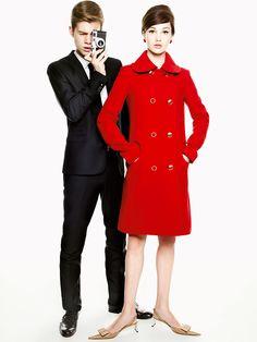 Образы из «Фотоувеличения» Антониони в модной съемке Glamour