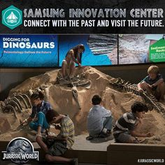 Jurassic World - Samsung Innovation Center