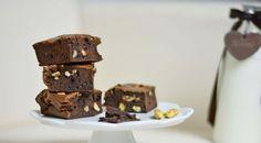 Brownies s hořkou čokoládou a vlašskými ořechy