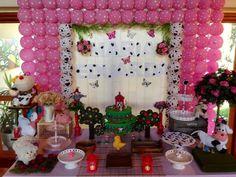 Resultado de imagem para fazendinha rosa festa