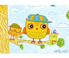 wellerwishes: owls