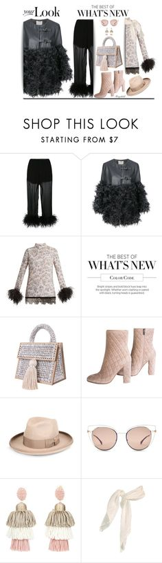 """💕 Arm Candy: Statement Bags"" by ragnh-mjos ❤ liked on Polyvore featuring Prada, Dorothee Schumacher, Gianvito Rossi, STELLA McCARTNEY, Fendi and Oscar de la Renta"