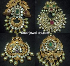 Gold Jewelry In Egypt South Indian Jewellery, Indian Jewellery Design, Latest Jewellery, Indian Jewelry, Jewelry Design, Pendant Jewelry, Jewelry Necklaces, Peacock Jewelry, Gold Models