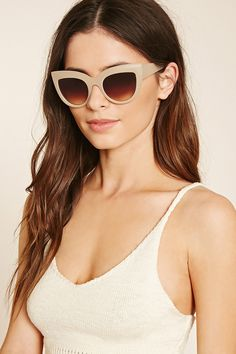 Gradient Cat Eye Sunglasses | Forever 21 - 1000221051
