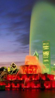 Buckingham Fountain ~ Chicago, Illinois