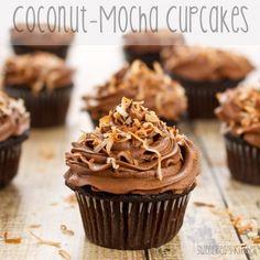 Sweet Pea's Kitchen » Coconut-Mocha Cupcakes