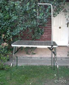 Mesa plegable para peluqueria canina. Mesa para peluqueria canina, plegable, nueva, fabricacion propia. Tapa de 60 x 90 cm en fenolico con ... http://san-justo.evisos.com.ar/mesa-plegable-para-peluqueria-canina-1-id-941212