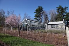 APRIL 5, 2012 Early April at my Farm | Another view of the greenhouse and head house