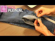 Spijkerbroek korter maken en originele zoom behouden. - Instructies - Weethetsnel.nl