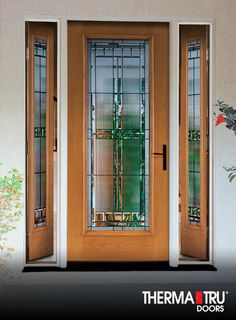 12 Best Doors Front Vented Sidelights Images Exterior