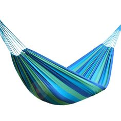 16.99$  Watch now - http://alifil.shopchina.info/1/go.php?t=32817954430 - Garden Swing Canvas Portable Outdoor Travel Hammock Sports Stripe Camping Single Person Hammock Hang Bed  #magazine