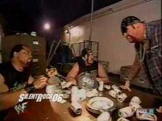 Hilarious!! Undertaker & APA Backstage #goodtimesofwrestling