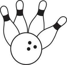 free bowling clip art clipart best clipart best crafty rh pinterest co uk clipart bowling pin clipart bowling pins and ball