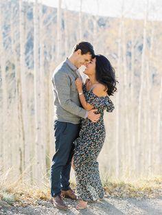 Colorado fall engagement session