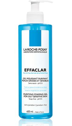 All about Effaclar Gel, a product in the Effaclar range by La Roche-Posay recommended for Oily skin with imperfections. Free expert advice