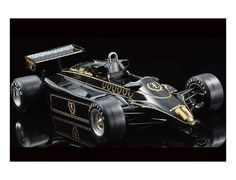 The Tamiya Ebbro 1/20 Team Lotus Type 91 (1982) from the Tamiya Ebbro Formula 1 range accurately recreates the real life Formula 1 car. This model requires paint and glue to complete.