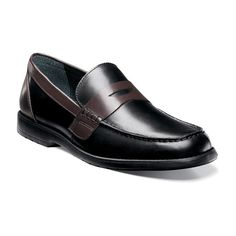 Nunn Bush Appleton Men's Penny Loafers, Size: 10 Wide, Black