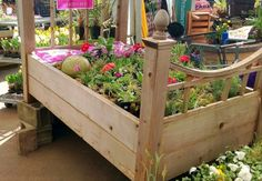 Spotted: Raised Bed Planter, Literally