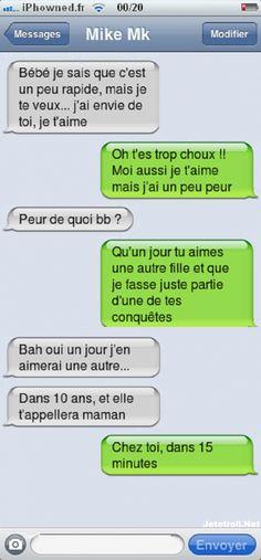 Image - Sms d'iphone mdr 1 - L'amour sa blesse - Skyrock.com