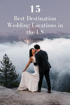 Couples who are planning a wedding in the United States are faced with a wonderful problem thousands of extraordinary places to tie the knot. There is a handful of locations that rise above the rest. Weve rounded up a diverse collection of the 15 best locations for destination weddings in the US thanks to their vibrant energy elegant venues picturesque weather and a variety of other criteria that make these sites fitting for the wedding of your dreams! #DestinationWeddings #USAWeddings…