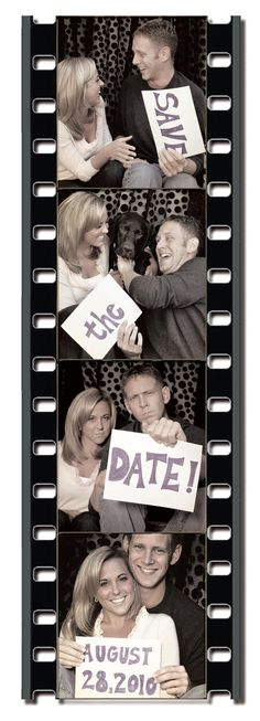 this is the save the date i want. only with me and justin. lol.