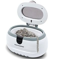 Amazon.com: Generic Sonic Wave CD-2800 Ultrasonic Jewelry & Eyeglass Cleaner (White/Gray): Cell Phones & Accessories