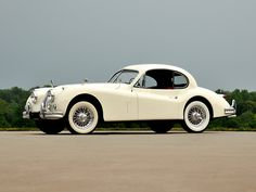 1954 Jaguar XK140 Fixed Head Coupe.