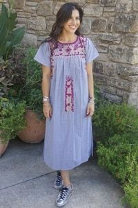 Hand made Mexican Dress