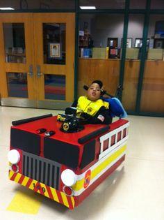 Kimberly's Fire Truck (Wheelchair)