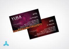 Tarjeta Personal - Yuka Paris