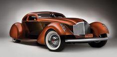 """1934 Packard """"Myth"""" Custom Boattail Coupé"""
