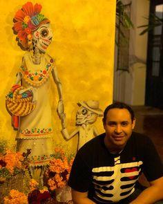 Festival de Tradiciones de Vida y Muerte Xcaret 2017 #hanalpixan Painting, Instagram, Art, Life And Death, Art Background, Painting Art, Kunst, Paintings, Performing Arts