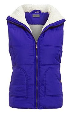 SS7 New Women's Quilted Bodywarmer Gilet, Blue, Red, Size 12 - 18