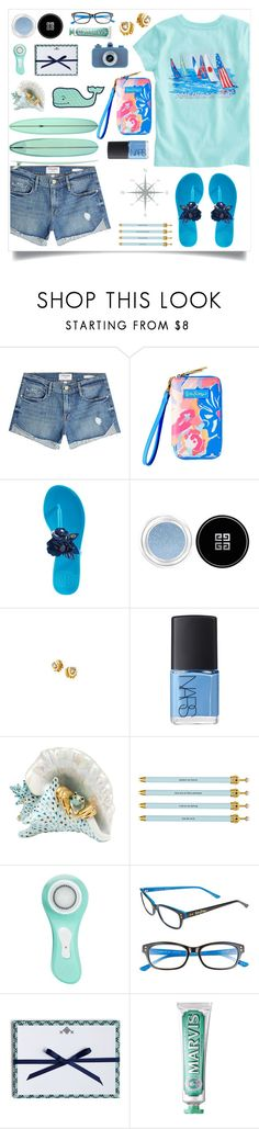 """Untitled #989"" by liska1986 ❤ liked on Polyvore featuring Vineyard Vines, Frame, Lilly Pulitzer, Tory Burch, Givenchy, NARS Cosmetics, Herend, Santa Barbara Design Studio, Magnitone and Vera Bradley"