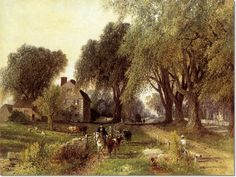 Albert Fitch Bellows  - Country Life  Painting