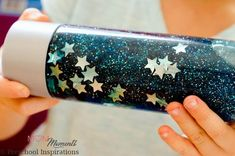 3 Ingredient Galaxy Calm Down Bottle - Mom Moments