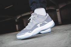 How Do You Like The Air Jordan 11 Low Cool Grey  dd7c3a318