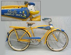 shelby donald duck bike with quacking horn