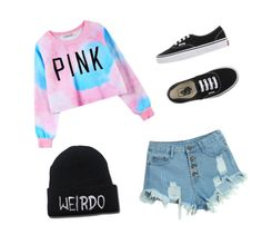 """Sin título #1"" by carla-macias on Polyvore featuring moda, Chicnova Fashion, WithChic, Vans, women's clothing, women's fashion, women, female, woman y misses"